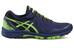 asics Gel-FujiAttack 5 G-TX Shoe Men Black/Green Gecko/Indigo Blue